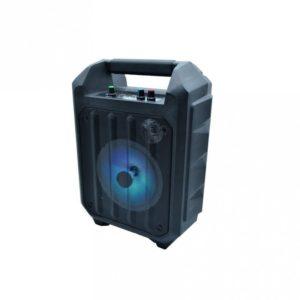 boxa portabila eaz949 cu bluetooth microfon cu fir radio card usb negru