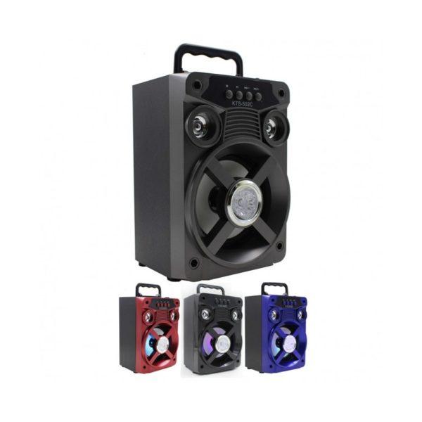 boxa portablila bluetooth eaz502 card sd radio fm