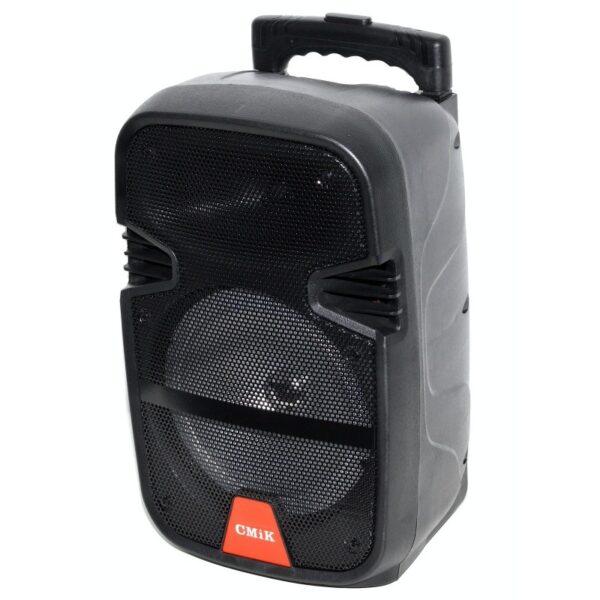 boxa portabila mare cu amplificator bluetoothradio fm usb card tfmicrofon mk a12