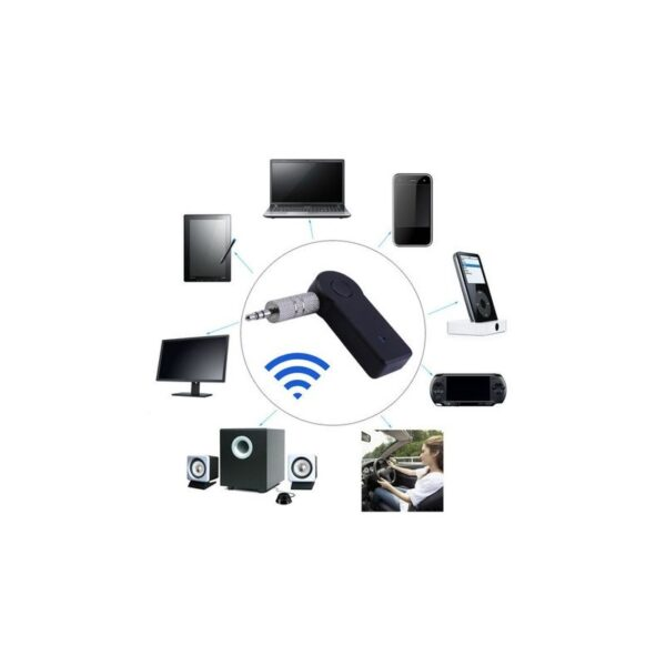 adaptor bluetooth micro usb cu cablu jac auxiliar 2