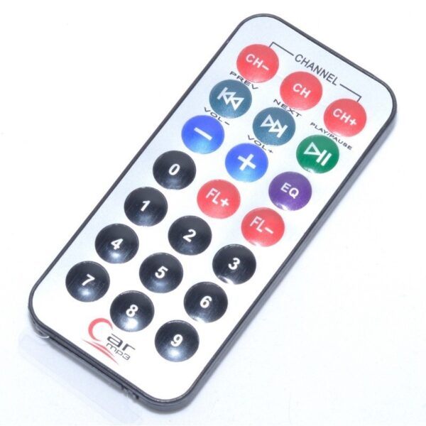 modulator fm mp3 player cu incarcare si telecomanda 8 in1 2