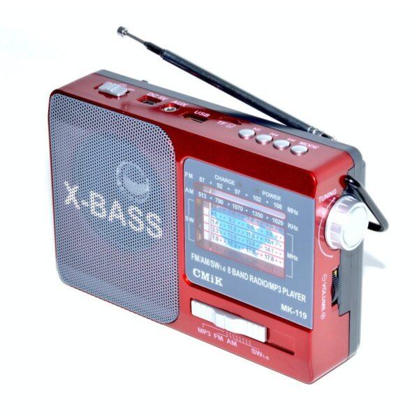 radio dsp fm am sw 8 band mp3playerusb mk 119