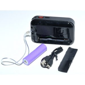 radio mini portabil cu mp3 usb card micro mk 109 2