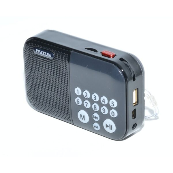 radio mini portabil cu mp3 usb card micro mk 109