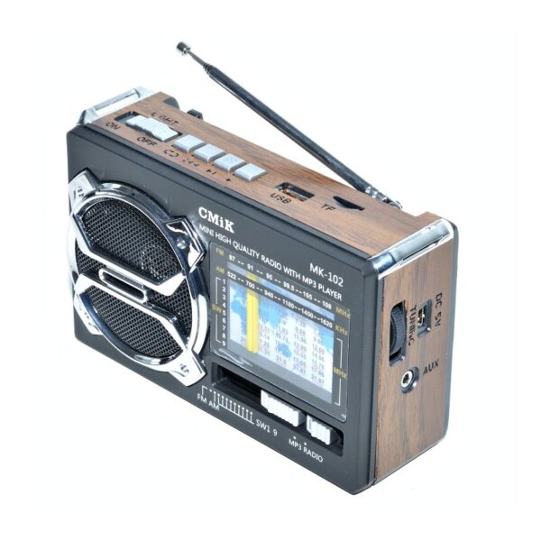 radio mini portabil mp3radio fmamsw 11 band aux lanterna mk 102 1