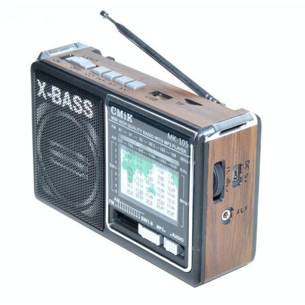 radio mini portabil mp3radio fmamsw 11 band aux lanterna mk 105 3