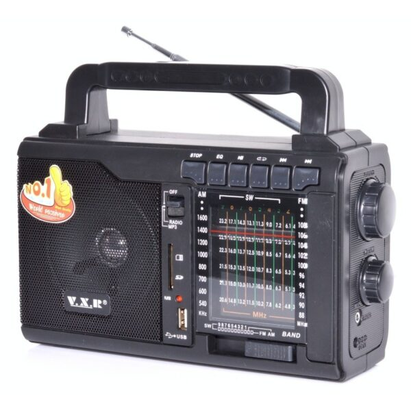 radio portabil fm cu usbsd card si lanterna vxr 1