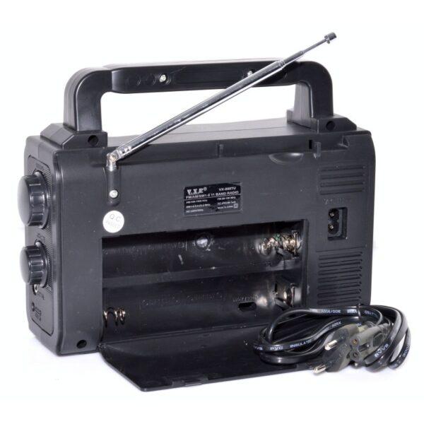radio portabil fm cu usbsd card si lanterna vxr 2