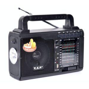 radio portabil fm cu usbsd card si lanterna vxr