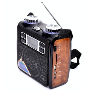 radio portabil multifunctional fm cu usbsd card vxr 1