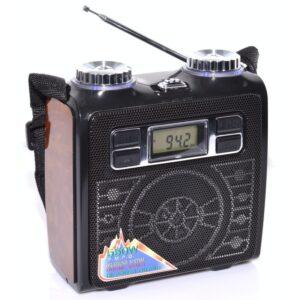 radio portabil multifunctional fm cu usbsd card vxr